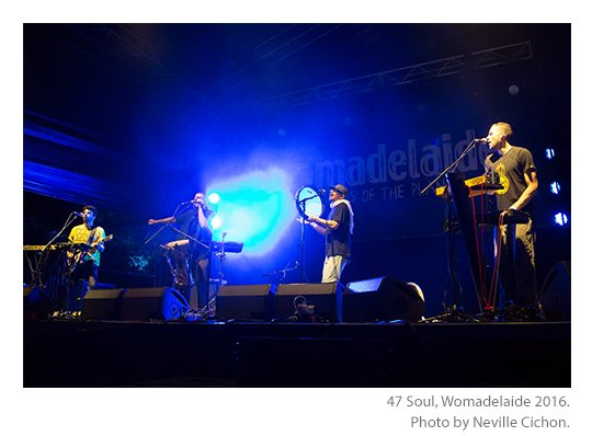 47Soul at Womadelaide