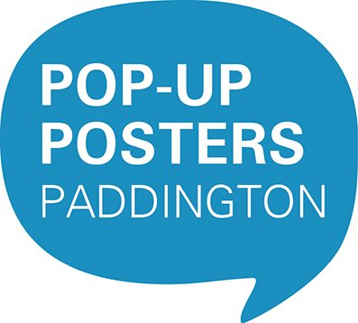 Pop-up posters paddington logo